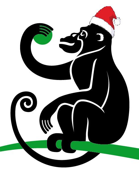 Dä Aap feiert Weihnachten