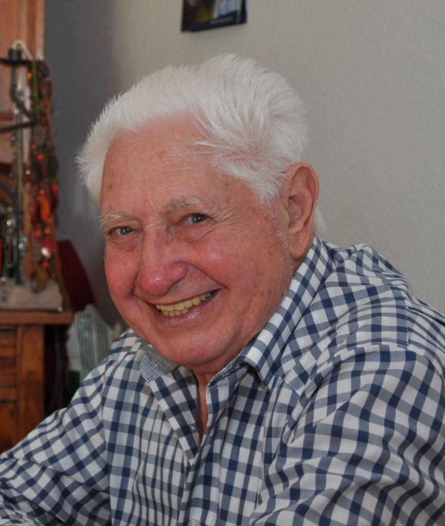 Joop Cosman - Ehrenmitglied der Gesellschaft 1938 Krefeld-Oppum e.V.