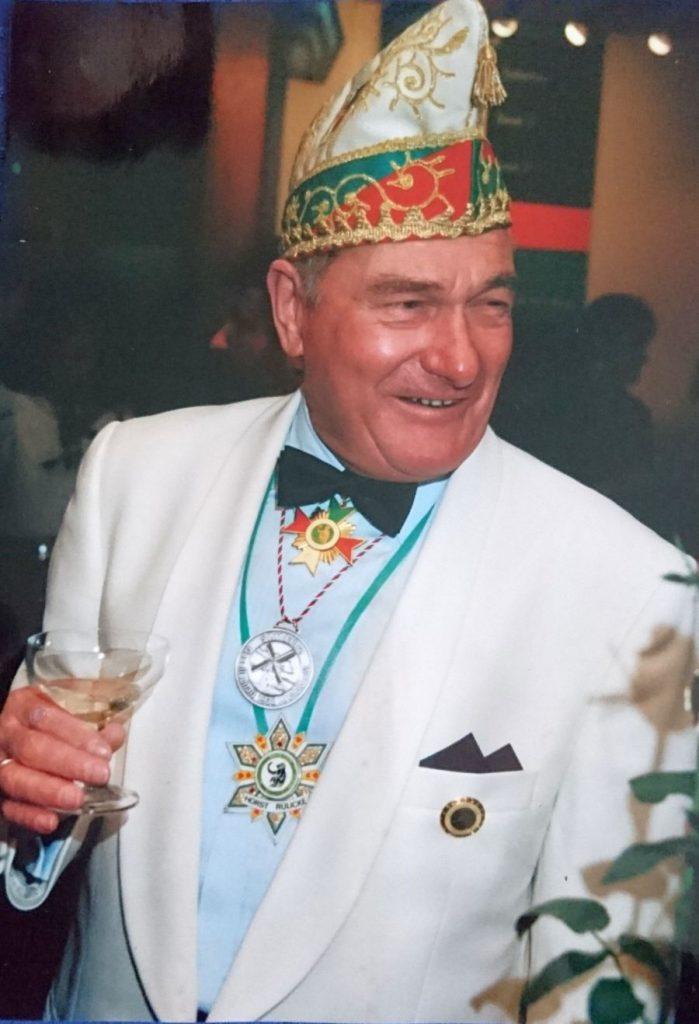 Horst Rülicke - Ehrenmitglied der Gesellschaft 1938 Krefeld-Oppum e.V.
