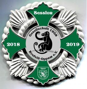Sessionsorden 2018/ 2019 der Gesellschaft 1938