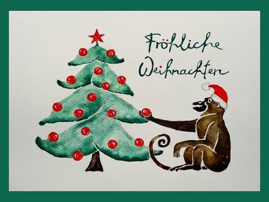 Fröhliche Weihnachten wünschen die 38er