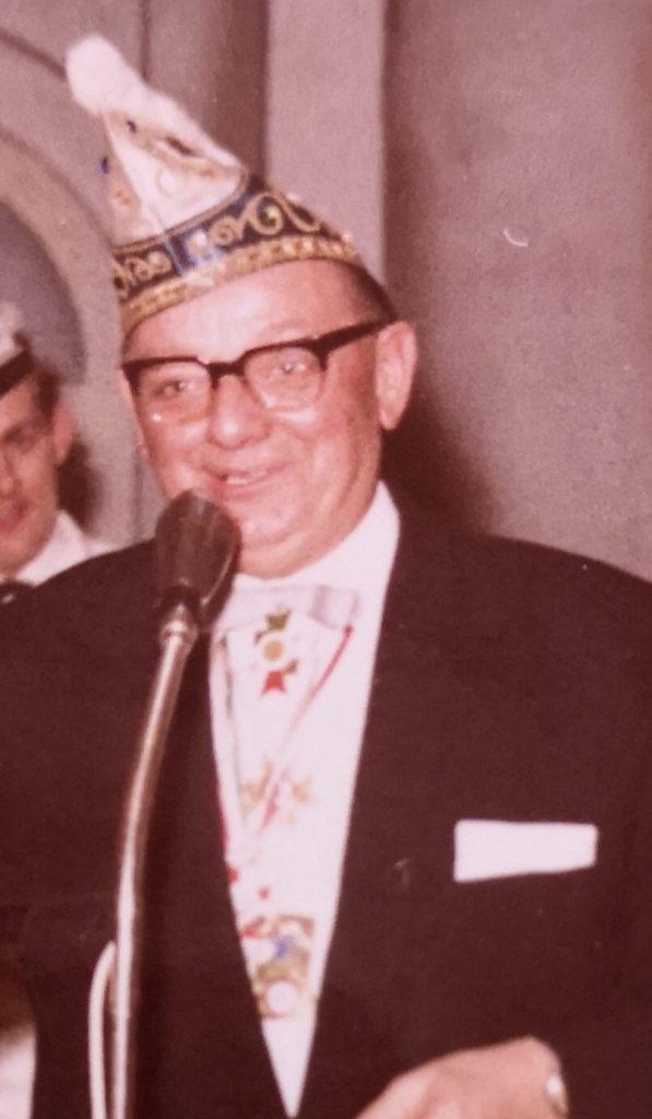 Friedl Haunzwickl - Ehrenvorsitzender der Gesellschaft 1938 Krefeld-Oppum e.V.